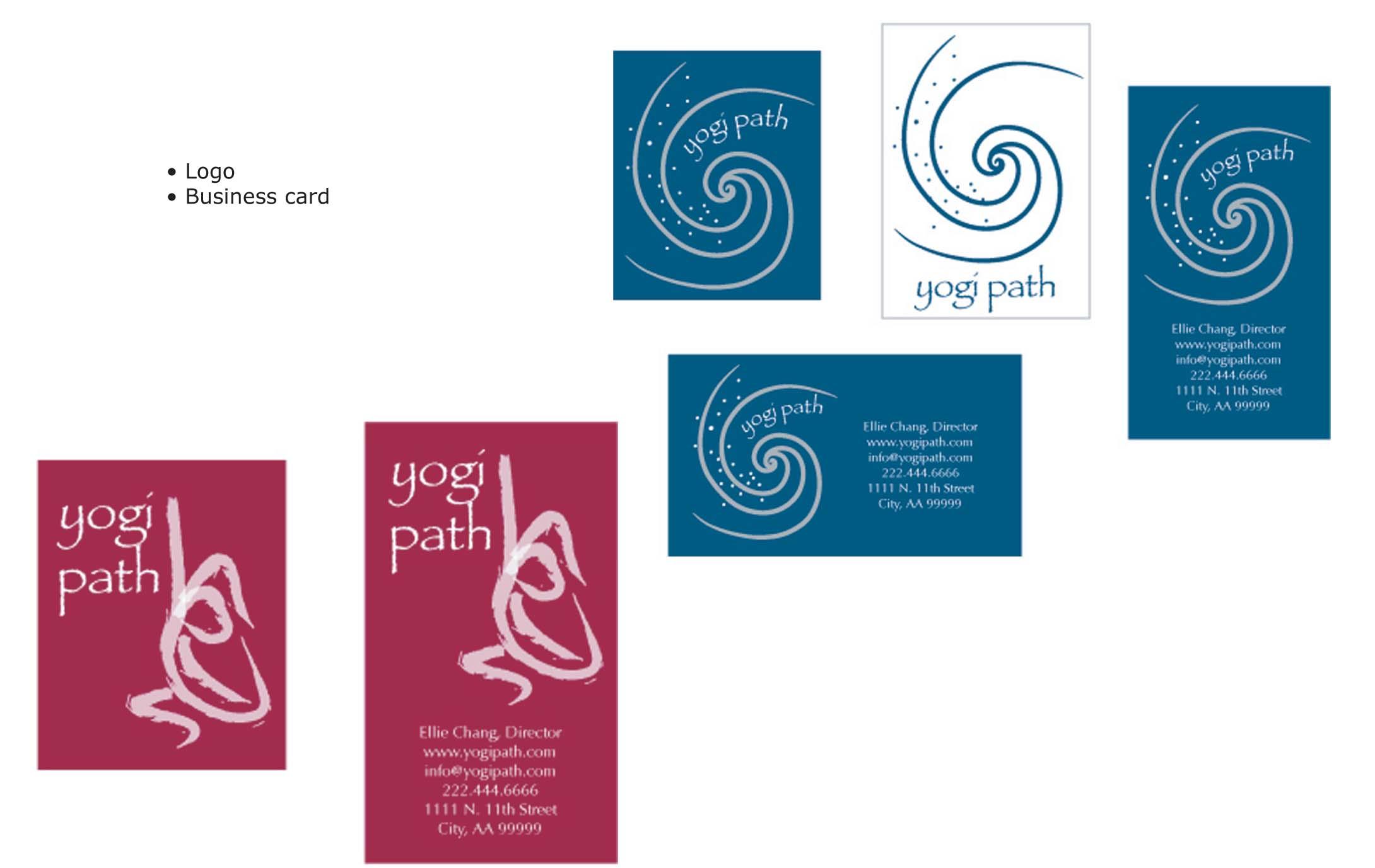 Branding for yoga instructor