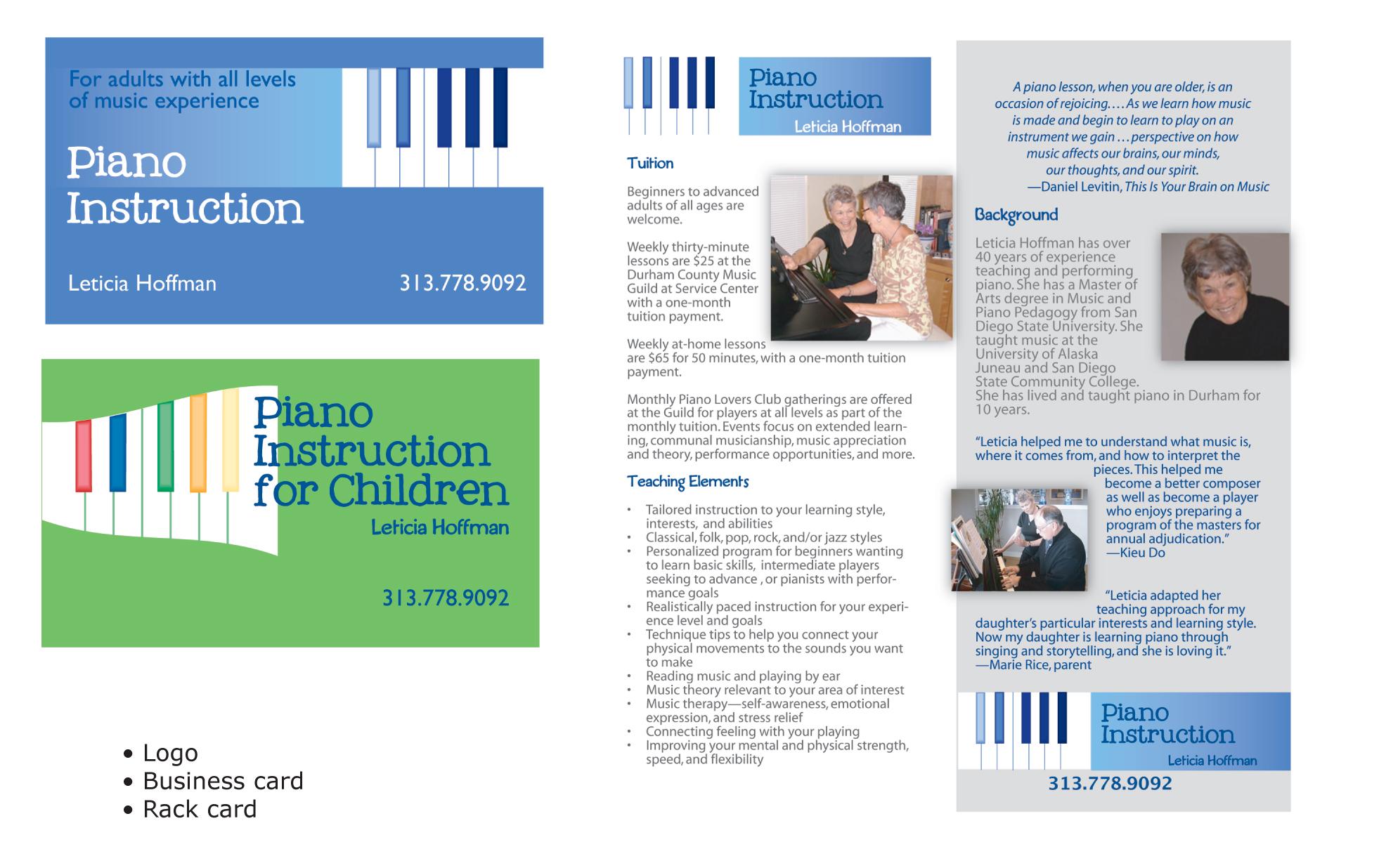Branding for music instructor
