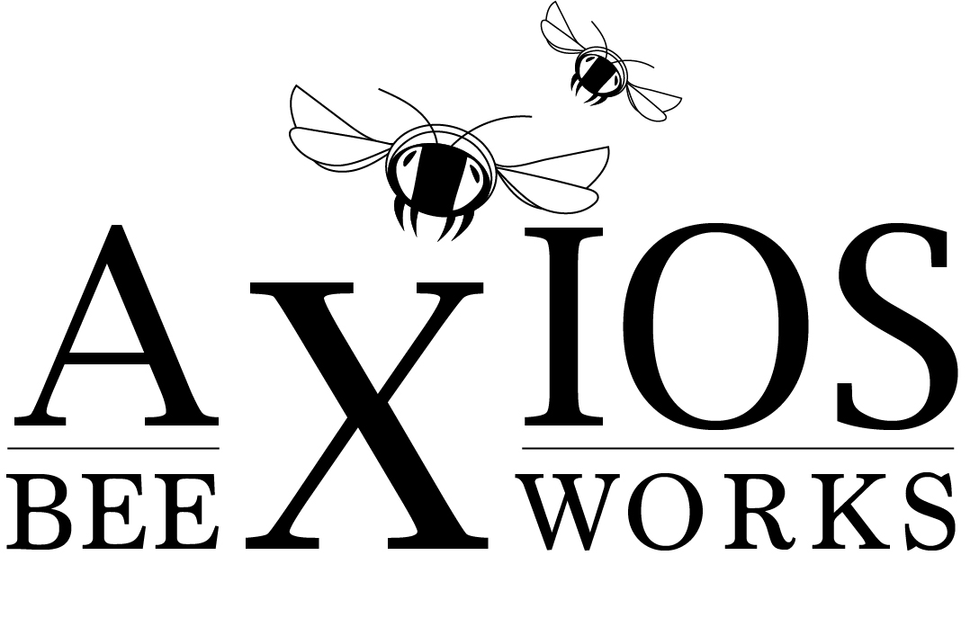 Logo for bee-keeping service