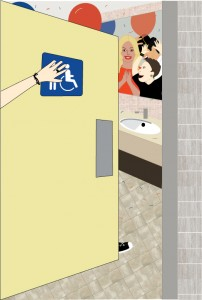 The School Bathroom